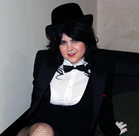 Zatanna Zatarra from DC Comics worn by Kira Rhian