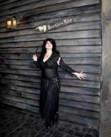 Bellatrix Lestrange from Harry Potter worn by Kira Rhian