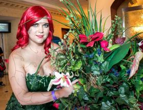 Poison Ivy from DC Comics worn by Kira Rhian