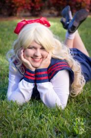Minako Aino from Sailor Moon Sailor Stars worn by Kira Rhian