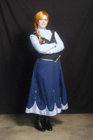 Anna from Frozen worn by Kira Rhian