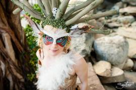 Didarabocchi / Forest Spirit / Nightwalker from Princess Mononoke worn by Kudrel