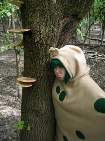 Shroomish from Pokemon worn by Lelio