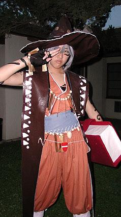 Klarth F Lester from Tales of Phantasia worn by Muralasa