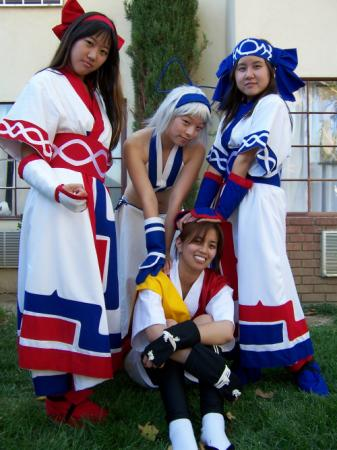 Nakoruru from Samurai Shodown Series worn by Muralasa