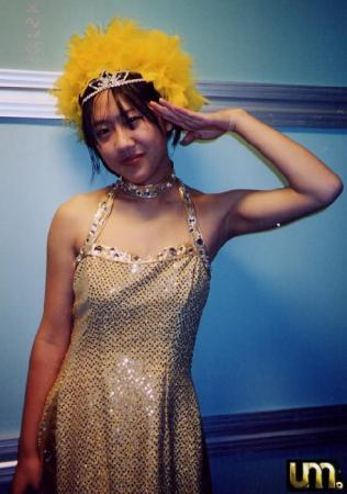 Natsumi Abe from Morning Musume