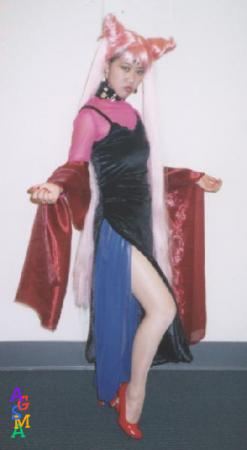 Black Lady from Sailor Moon R worn by Muralasa