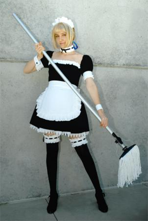 Saber from Fate/Hollow Ataraxia worn by shuiichibrie