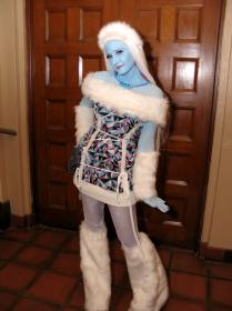 Abbey Bominable from Monster High worn by shuiichibrie