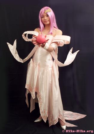 Lacus Clyne from Mobile Suit Gundam Seed Destiny worn by Machiko