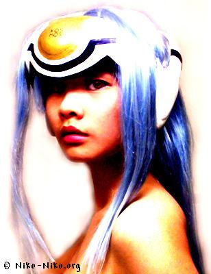 KOS-MOS from Xenosaga Episode I: Der Wille zur Macht worn by Machiko