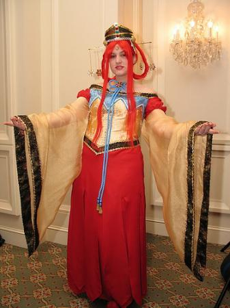 Princess Kakyuu / Fireball from Sailor Moon Seramyu Musicals worn by Masayume