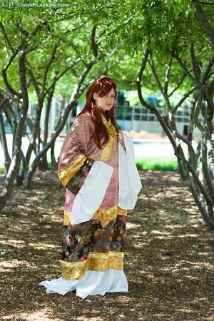 Youko Nakajima (Empress of Kei) from Twelve Kingdoms worn by Masayume