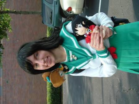 Kagome Higurashi from Inuyasha worn by Winry Chan