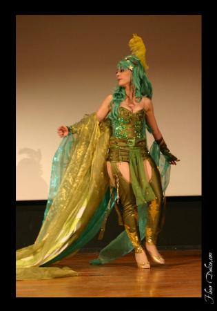 Rydia from Final Fantasy IV worn by Lili