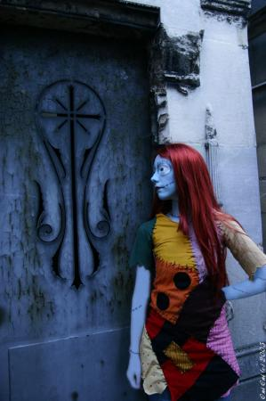Sally from Nightmare Before Christmas worn by Lili