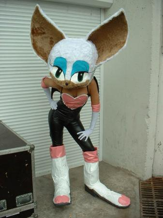 Rouge the Bat from Sonic Adventure worn by Minnimay