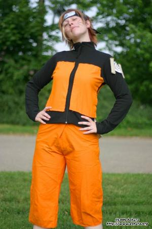 Naruto Uzumaki from Naruto worn by Flammechant