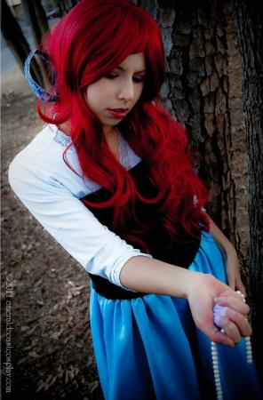 Ariel from Little Mermaid worn by Yoko