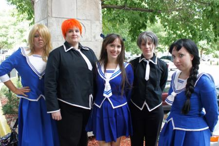 Kyo Sohma from Fruits Basket worn by Seiya Kou