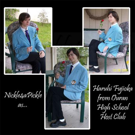 Haruhi Fujioka from Ouran High School Host Club worn by Nickle-Chan