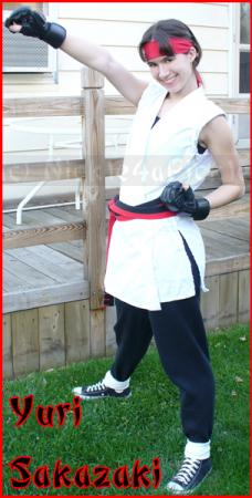 Yuri Sakazaki from King of Fighters 1994 worn by Nickle-Chan