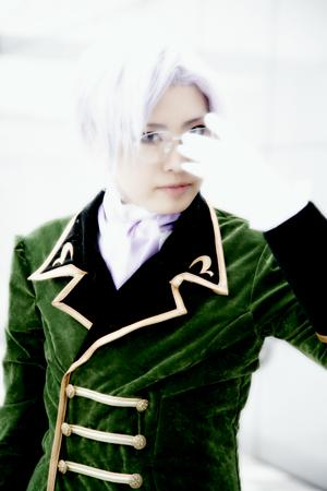Lloyd Asplund from Code Geass worn by Kazuya