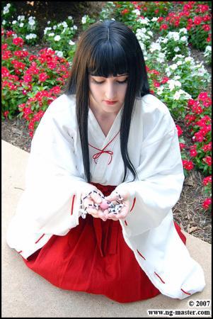Kikyo from Inuyasha worn by Tess