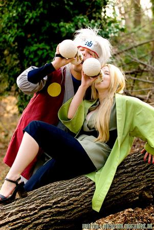 Tsunade from Naruto worn by Tess