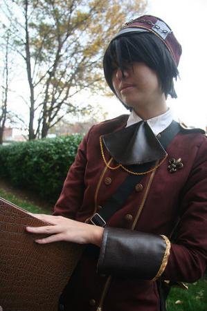 Military Academy Student. from Original: Steampunk worn by slightlysalted