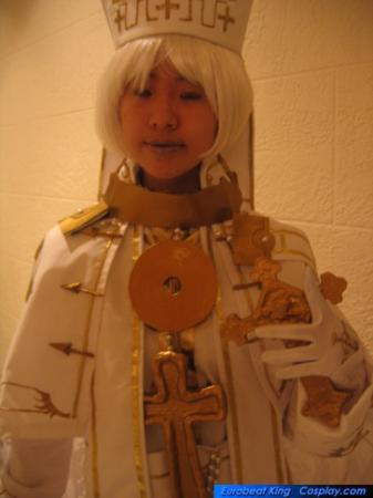 Pope Alessandro XVIII from Trinity Blood worn by slightlysalted