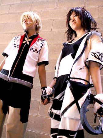 Roxas from Kingdom Hearts 2 worn by slightlysalted