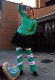 Vanellope Von Schweetz from Wreck-It Ralph worn by slightlysalted