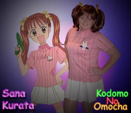 Sana Kurata from Kodomo no Omocha