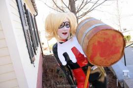 Harley Quinn / Dr. Harleen Francis Quinzel  	 from Batman worn by The Only Angel