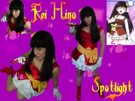 Rei Hino from Sailor Moon worn by Karol Neko Chan