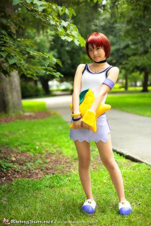 Kairi from Kingdom Hearts worn by Xty Kim