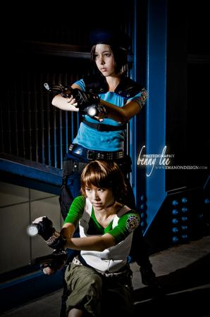 Rebecca Chambers from Resident Evil worn by LiL KRN YUNA