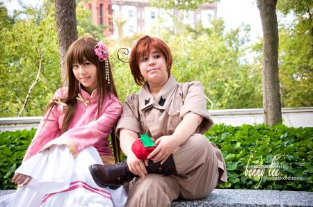 Taiwan from Axis Powers Hetalia worn by LiL KRN YUNA
