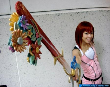Kairi from Kingdom Hearts 2 worn by Xty Kim