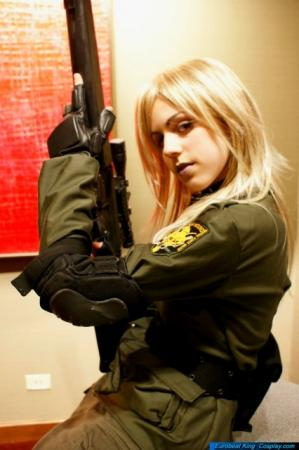 Sniper Wolf from Metal Gear Solid worn by KateMonster
