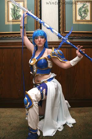 Umi Ryuuzaki from Magic Knight Rayearth worn by Winters Knight