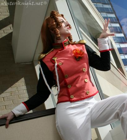 Juri Arisugawa from Revolutionary Girl Utena worn by Winters Knight
