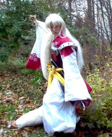 Sesshoumaru from Inuyasha worn by Winters Knight