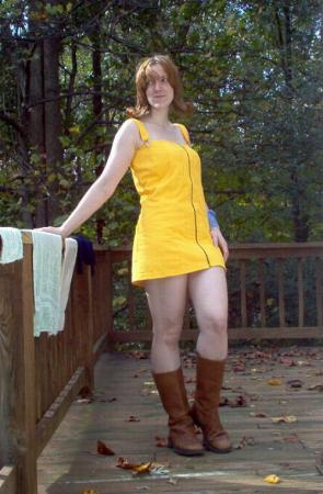 Selphie Tilmitt from Final Fantasy VIII worn by Winters Knight