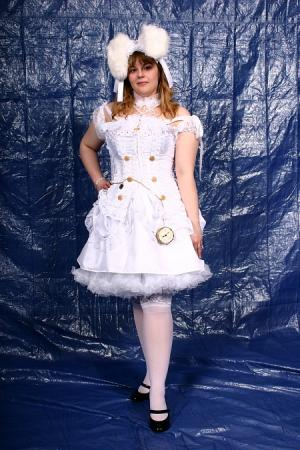 White Rabbit from Alice in Wonderland worn by SeekingElegance