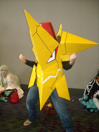 King Kittan from Tengen Toppa Gurren-Lagann worn by Athena