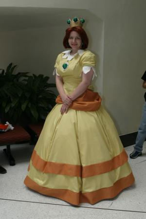 Princess Daisy from Super Mario Brothers Series worn by Athena