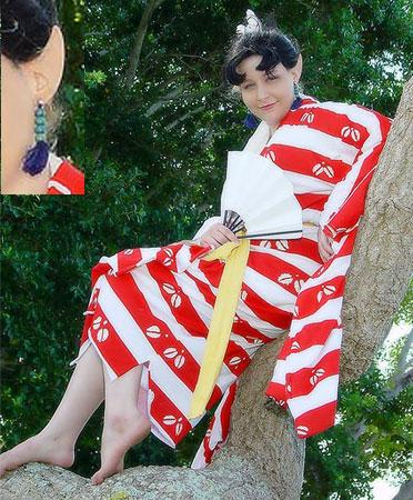 Kagura from Inuyasha worn by Athena