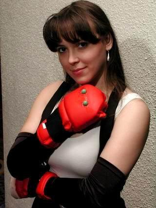 Tifa Lockhart from Final Fantasy VII worn by SunseenLi